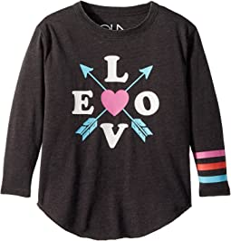 Chaser Kids - Vintage Jersey Love Arrows Tee (Toddler/Little Kids)