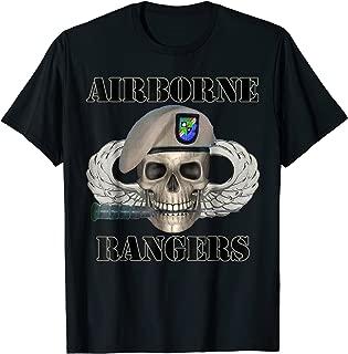 Airborne Rangers - Army Vets of Ft Benning Rangers T-shirt