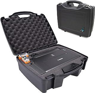 CASEMATIX Printer Travel Case Compatible with Canon PIXMA TR150 iP110 Wireless Portable Printer and Accessories