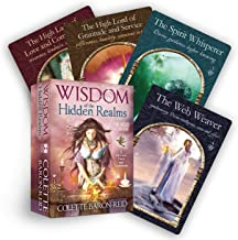 Wisdom of the Hidden Realms Oracle Cards: A 44-Card Deck and Guidebook
