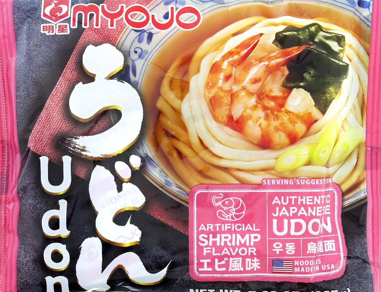 Myojo Udon Japanese Style Noodles with Flavor Base Soup Denver Max 48% OFF Mall Shrimp