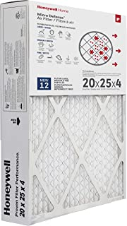 Honeywell CF200A1016 MicroDefense AC Furnace Air Cleaner Filter, 4-Inch
