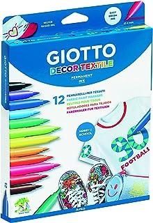 Giotto 494900 - Pack de 12 rotuladores decorativos para