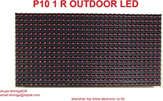 P10 led display module outdoor red led screen module 320mm160mm/Programmable led signs