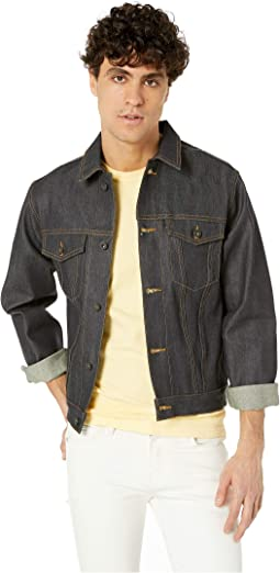 Denim Jacket in Kevlar® Fiber Blend Selvedge