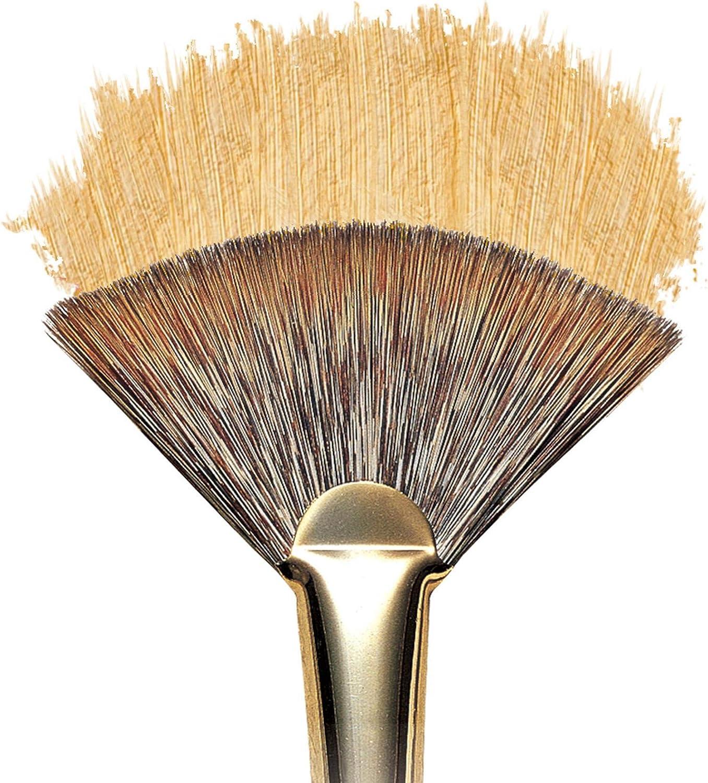 Size 0 Winsor /& Newton Monarch Bright Long Handle Brush