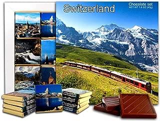 DA CHOCOLATE Candy Souvenir SWITZERLAND Chocolate Gift Set 5x5in 1 box (Day Prime 2) (2303)