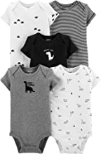 Carter's Baby Boys' 5-Pack Original Bodysuits, Sleeveless, Snuggle is Real