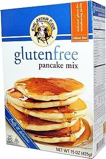 King Arthur Flour, Gluten Free Pancake Mix, 15 oz (425 g)(PACK 1)