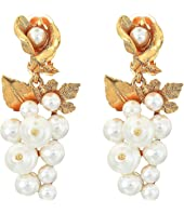 Oscar de la Renta - Baroque Pearl C Earrings