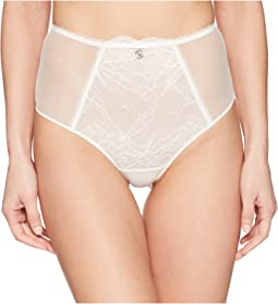 Emporio Armani Virtual Lace High-Waist Culotte Bottom