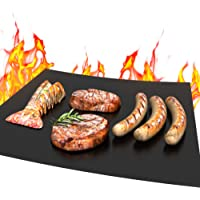 MMMAT Non Stick Heavy Duty 600 Degree BBQ Grill Mat