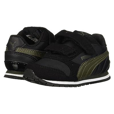 Puma Kids ST Runner v2 NL V (Toddler) (Puma Black/Forest Night) Boys Shoes