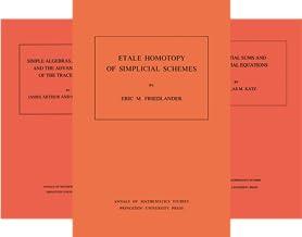 Annals of Mathematics Studies (101-150) (50 Book Series)
