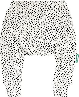 PARADE ORGANICS Harem Pants - Signature Prints Black Pebble 2T