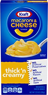 Kraft Thick 'N Creamy Macaroni & Cheese Dinner (7.25 oz Box)