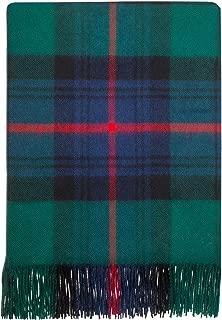 iLuv Luxury Lambswool Soft Blanket Armstrong Modern Tartan