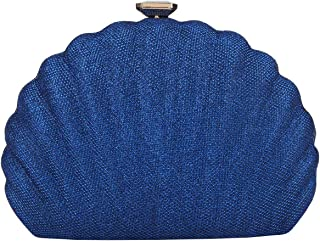 Fawziya Shell Evening Clutches For Wedding And Party Bag For Women