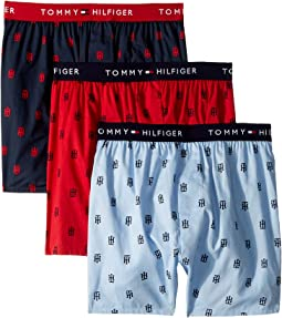 Cotton Classics 3-Pack Slim Fit Woven Boxer