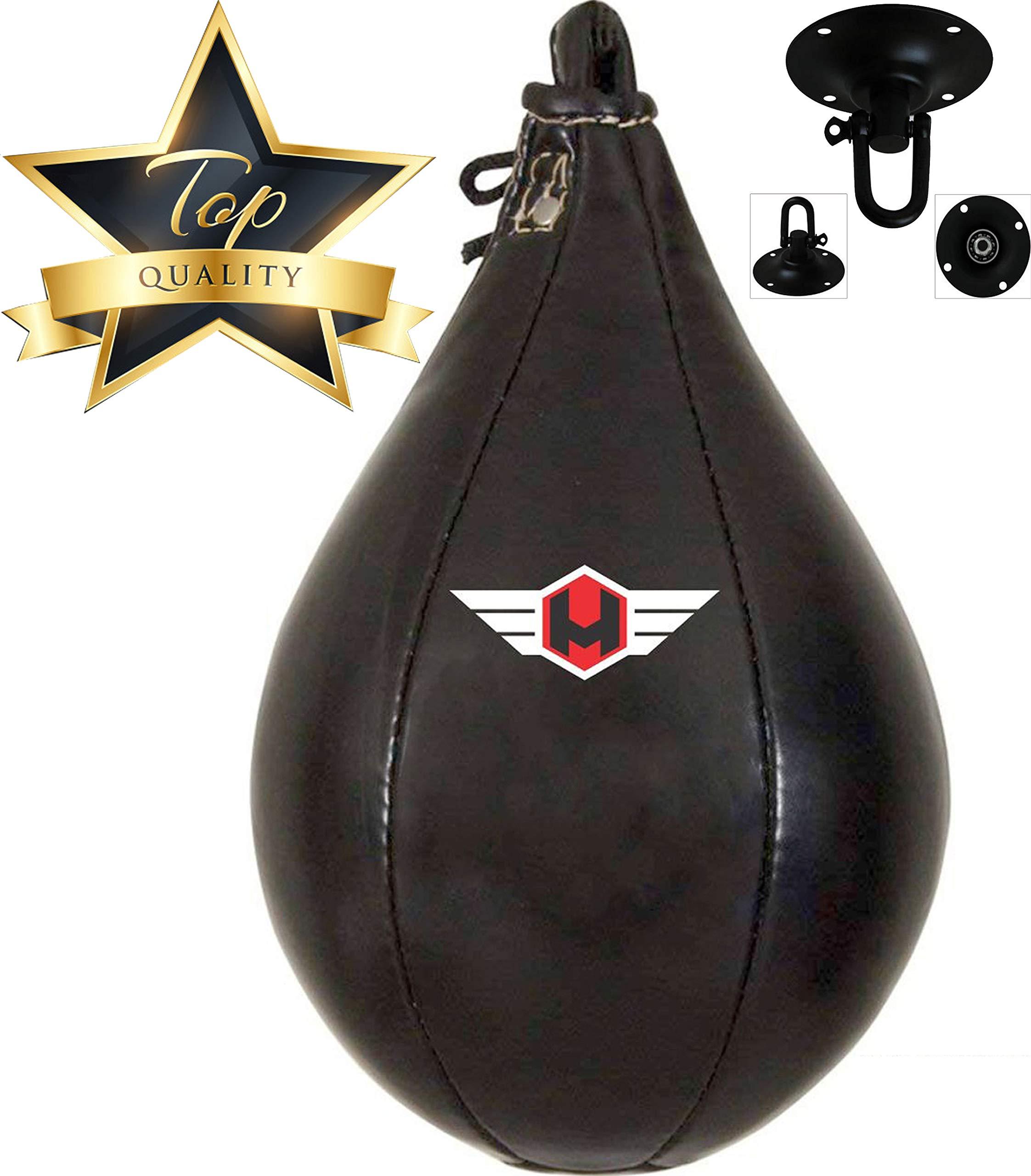 Hunter Leather Training Punching Striking