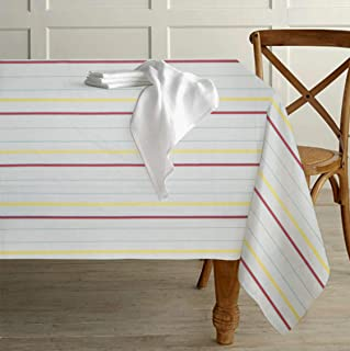 Tiny Break Vintage Stripe Tablecloth 60 inch by 84 inch