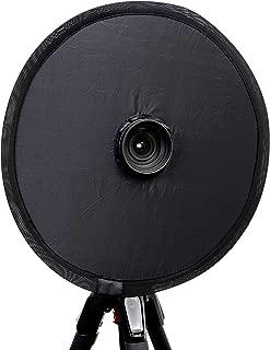 (C-RAYS)映り込み防止 穴あき レフ板 夜景撮影 ブラック シルバー リバーシブル 折りたたみ 反射 防止 レフ