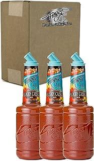 Finest Call Premium Bloody Caesar Drink Mix, 1 Liter Bottle (33.8 Fl Oz), Pack of 3