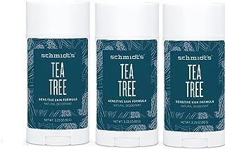 Tea Tree Sensitive Skin Deodorant Stick (Pack of 3)