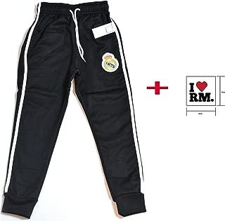 Real Madrid Joggers Navy Grey White Sweatpants Fleece Pants Mens Adults + Sticker