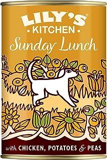 Lily's Kitchen Comida Húmeda Almuerzo de Domingo de Pollo para Perros Adultos (6 x 400g)