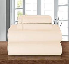 Elegant Comfort Luxury Soft 1500 Thread Count Egyptian 4-Piece Premium Hotel Quality Wrinkle Resistant Coziest Bedding Se...