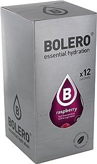 comprar comparacion Bolero Bebida Instantánea sin Azúcar, Sabor Frambuesa - Paquete de 12 x 9 gr - Total: 108 gr