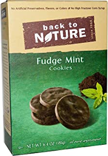 Back to Nature, Fudge Mint Cookies, 6.4 oz (181 g) Back to Nature, Fudge Mint Cookies, 6.4 oz (181 g) - 2pcs