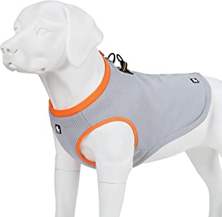 juxzh Truelove Dog Cooling Vest Dog Harness Cooler Jacket with Adjustable Zipper for Outdoor Hunting Training and Camping
