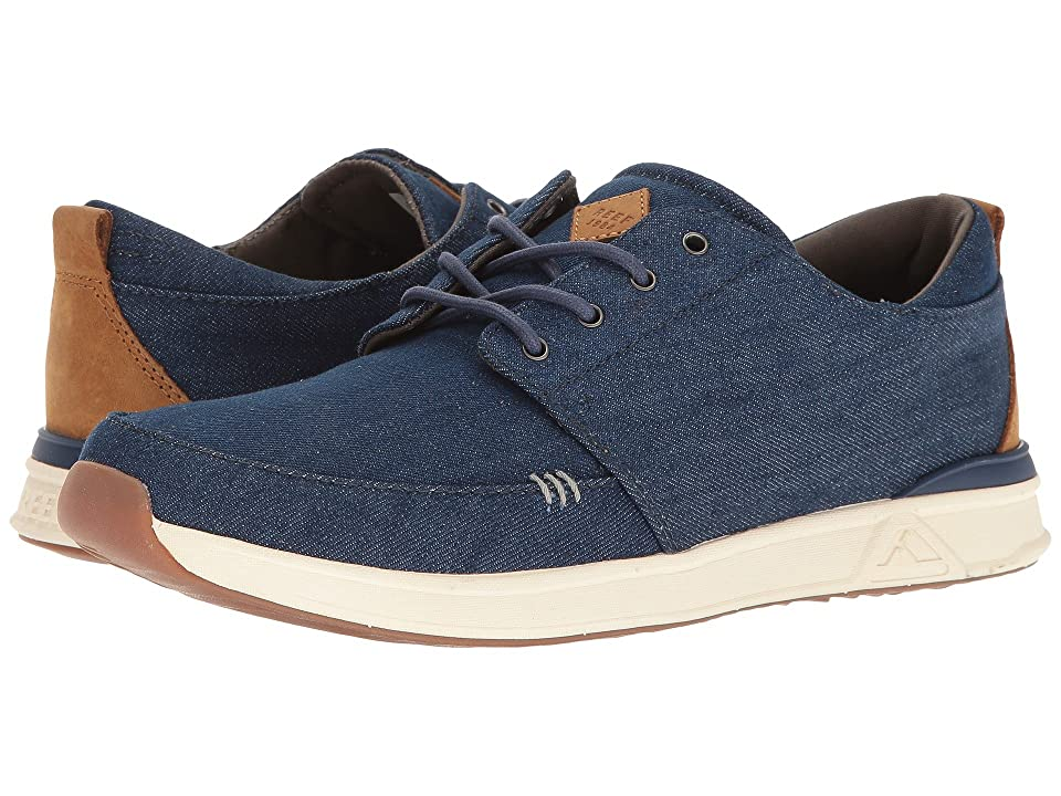Reef Rover Low TX (Navy/Denim) Men