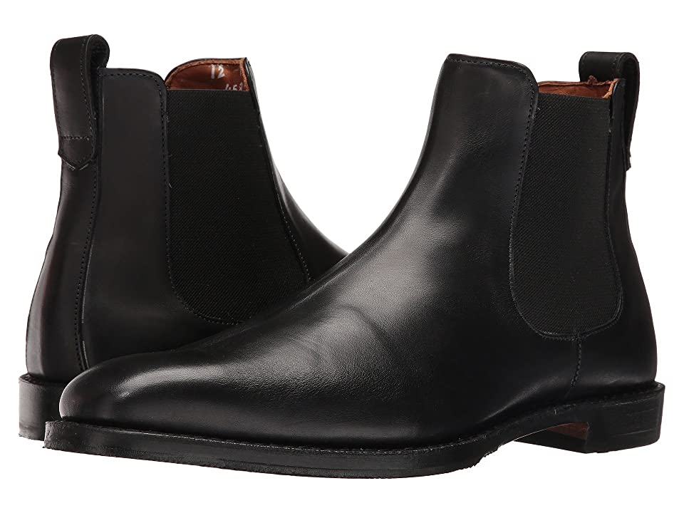 Edwardian Men's Shoes- New shoes, Old Style Allen Edmonds Liverpool Black Custom Calf Mens Boots $494.95 AT vintagedancer.com