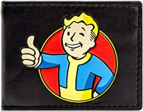 Bethesda Fallout 4 Vault Boy Thumbs Up Black ID & Card Bi-Fold Wallet