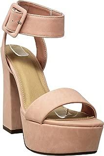 MVE Shoes Women's Fashion Criss Cross Stilletos Heel Pumps