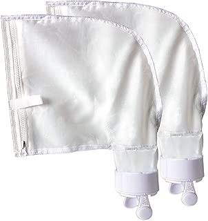 Pool Spa Part Nylon Mesh Pool Cleaner All Purpose Bag Fits Polaris 280, 480 Pool Cleaner Zippered All Purpose K13 K16(2 Pack)