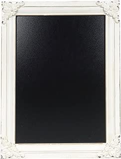 NIKKY HOME 11.8 x 15.7 Decorative Wooden Framed Wall Blackboard