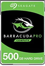 Seagate BarraCuda Pro 500GB Internal Hard Drive Performance HDD – 2.5 Inch SATA 6Gb/s 7200 RPM 128MB Cache for Computer Desktop PC Laptop, Data Recovery – Frustration Free Packaging (ST500LM034)