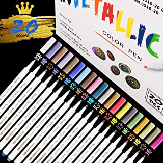 4 Farbe Metallic Permanent Marker Pen Farbstifte Graffiti Lackstift Lackmarker