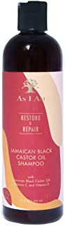 As I Am JBCO Shampoo - 12 ounce - Gentle Cleanser - Repairs and Restores Scalp Health - Vegan and Cruelty Free - Enriched ...