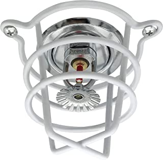 Happy Tree (10 Pack) White Fire Sprinkler Head Guard for Both 1/2