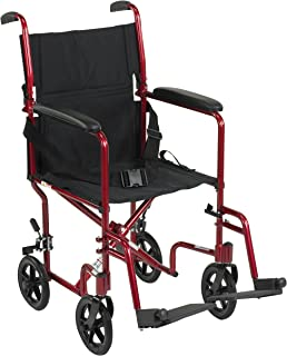 Drive Medical Aluminum Transport Chair, 19