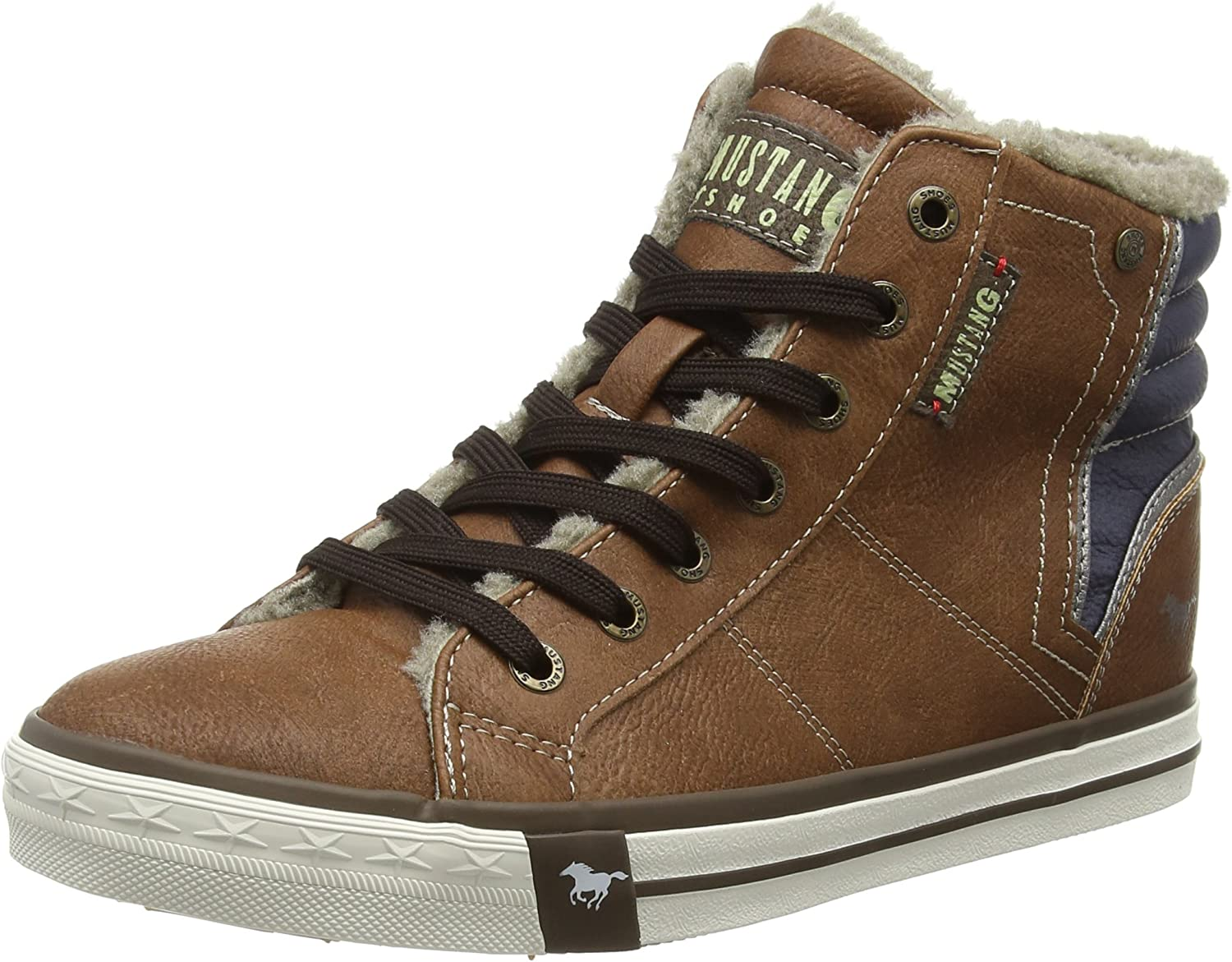Mustang Women's 1146-601-301 Hi-Top Trainers