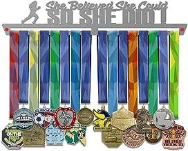 VICTORY HANGERS Runner Finisher vs Girl Power Achievements Medal Hanger Display Rack - 17.72 in - Various Models