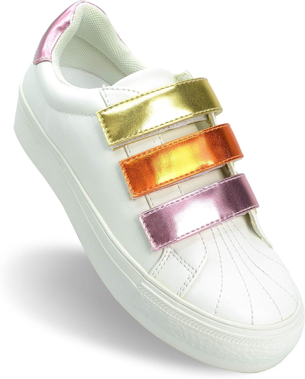 Shoe Republic LA Women's Fashion Causal WEB限定 お金を節約 Comfor Colorful Sneakers