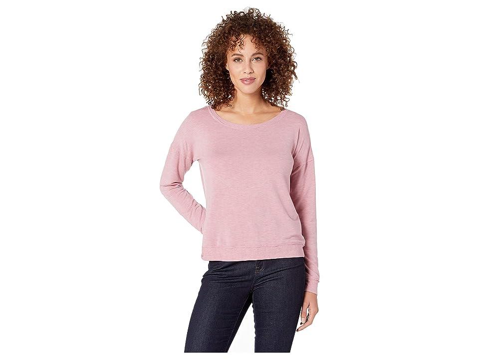 P.J. Salvage Lounge Essentials Sweater (Amethyst) Women