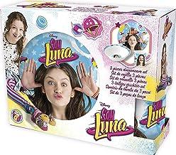ALMACENESADAN 2290; Set merienda de cerámica Disney Soy Luna; Apto para microondas y lavavajillas; Compuesto por Plato, Taza y Cuenco.